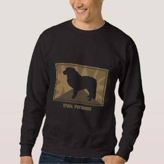 Earthy Great Pyrenees Sweatshirt