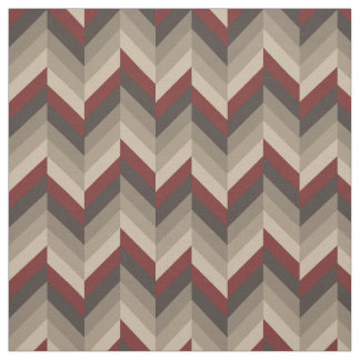 Earthy Herringbone Fabric
