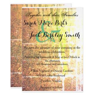Earthy Invitation