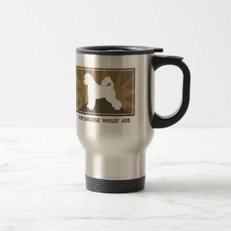 Earthy Portuguese Water Dog Travel Mug