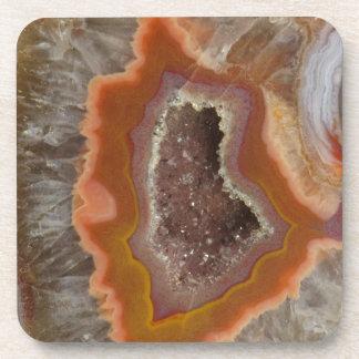 Earthy Quartz Crystal Druzy Coaster