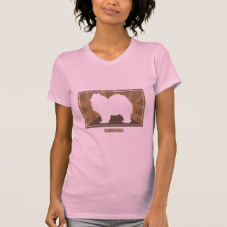 Earthy Samoyed Ladies TShirt