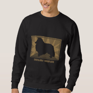 Earthy Shetland Sheepdog Sweatshirt