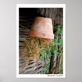 Earwig Hut Posters