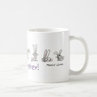 EAS-006 Hoppy Easter Basic White Mug