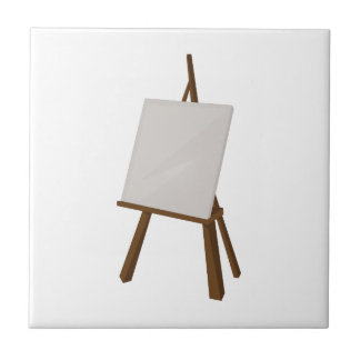 Easel Painting Ceramic Tile