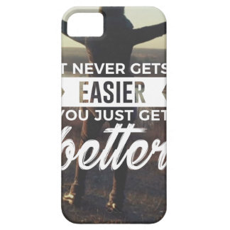 Easier Stronger Better Barely There iPhone 5 Case
