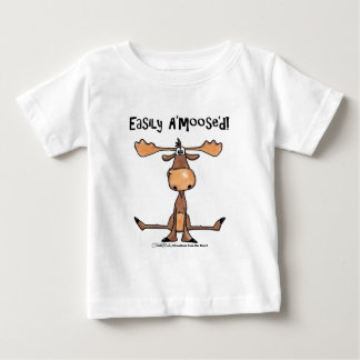 "Easily A'Moose""d Baby T-Shirt"