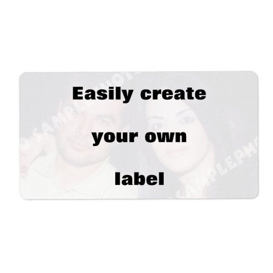 Easily create your label. Remove the big text! Shipping Label