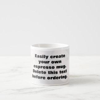 Easily create your own espresso photo mug espresso mug