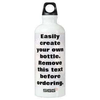 Easily create your own photo water Liberty bottle SIGG Traveller 0.6L Water Bottle