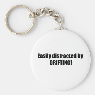 Easily Distracted By Drifting Keychains