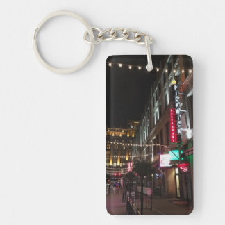 East 4th Street, Cleveland, Ohio Photo Key Chain