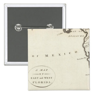 East and West Florida 15 Cm Square Badge