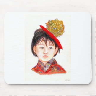 East Asian Child Mouse Pad