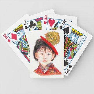 East Asian Child Poker Deck
