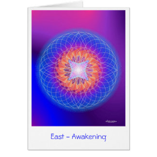 East-Awakening Card