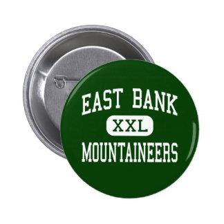 East Bank - Mountaineers - Junior - East Bank 6 Cm Round Badge