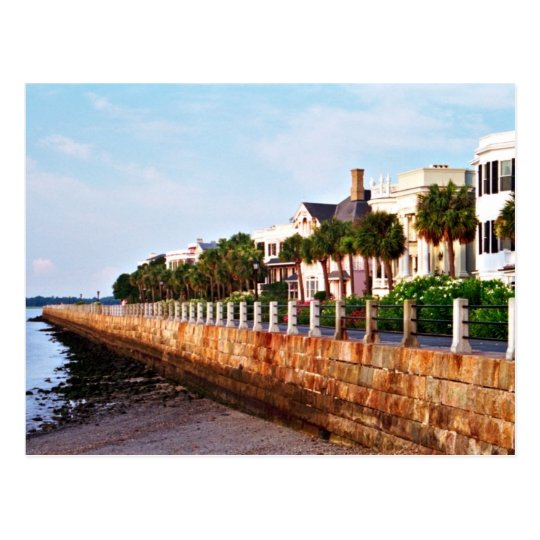 East Battery Seawall Postcard