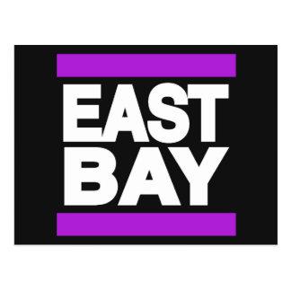 East Bay Purple Postcard