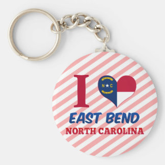 East Bend, North Carolina Keychain