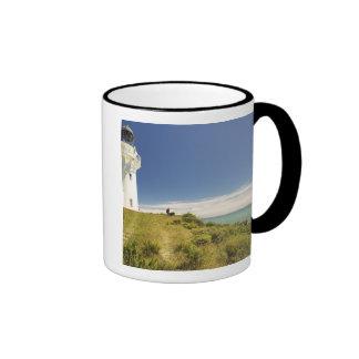 East Cape Lighthouse, Eastland, New Zealand Ringer Mug