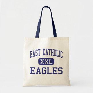 East Catholic - Eagles - High - Manchester Budget Tote Bag