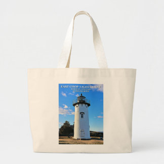 East Chop Lighthouse, Massachusetts Jumbo Tote Bag