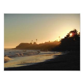 East Cliff Drive Beach Photo Art