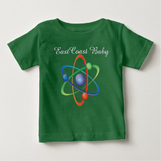 East Coast Baby atom science shirt