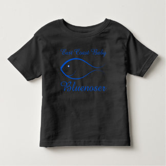 East coast baby Bluenoser fish cute nautical shirt