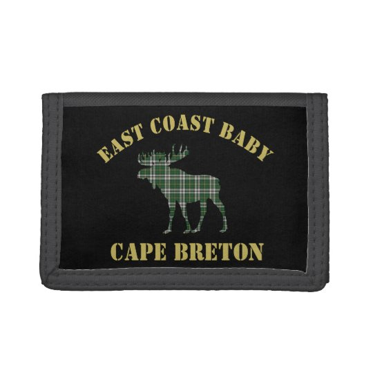East Coast Baby Cape Breton Tartan wallet moose