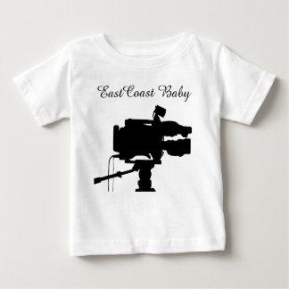 East Coast Baby film cinema movie camera Baby T-Shirt