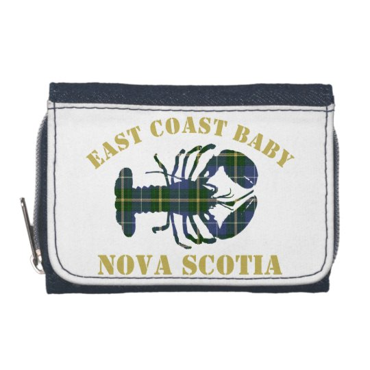 East Coast Baby Lobster tartan wallet
