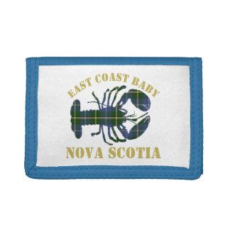 East Coast Baby Lobster tartan wallet
