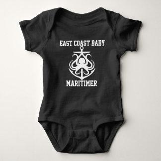 East Coast Baby Maritimer anchor octopus Baby Bodysuit
