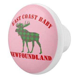 East Coast Baby moose Newfoundland  drawer pull