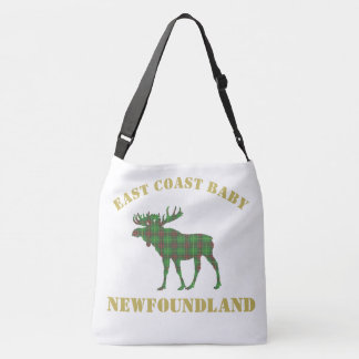 East Coast Baby moose Newfoundland tartan Bag
