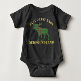 East Coast Baby moose Newfoundland tartan shirt