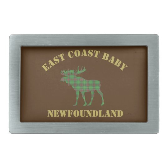 East Coast Baby Newfoundland belt buckle brown