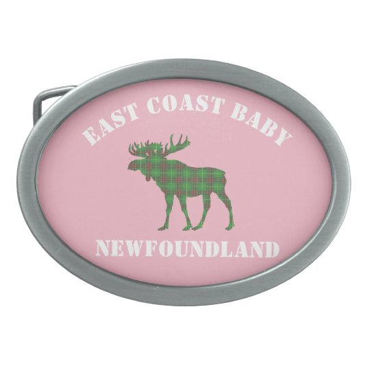 East Coast Baby Newfoundland belt buckle pink