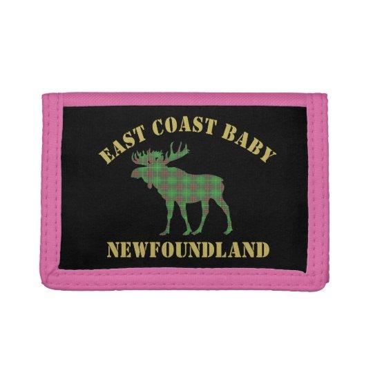 East Coast Baby Newfoundland moose tartan wallet