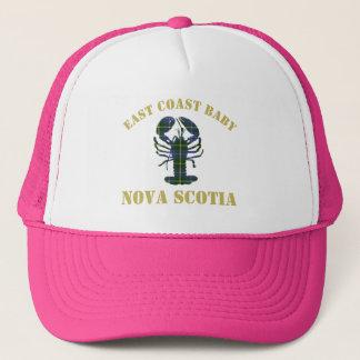 East Coast Baby Nova Scotia lobster hat pink