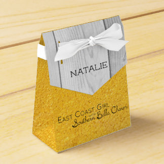 East Coast Girl with Southern Belle Charm Favour Box