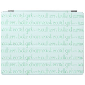 East Coast Girl with Southern Belle Charm iPad Cover
