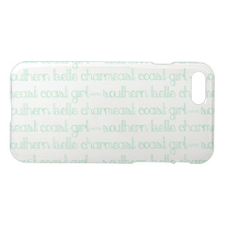 East Coast Girl with Southern Belle Charm iPhone 8/7 Case