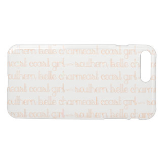 East Coast Girl with Southern Belle Charm iPhone 8 Plus/7 Plus Case