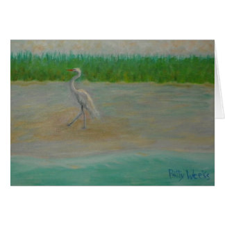 EAST COAST GREAT EGRET Greeting Card