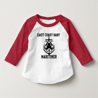 East Coast  Maritimer anchor octopus Baby shirt