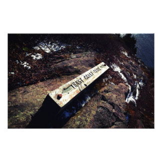 East Coast Trail Personalized Stationery